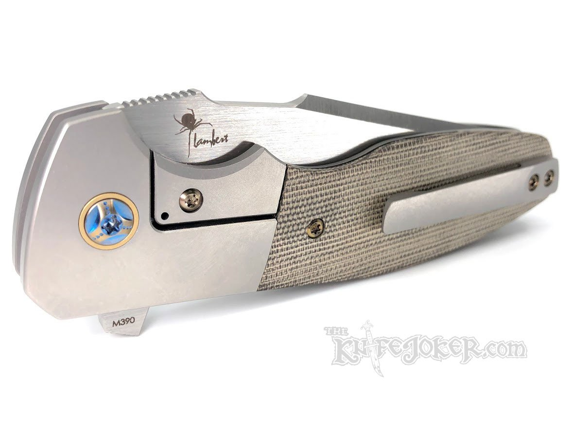 Reate Knives Kirby Lambert Augustus Green Micarta 3 62